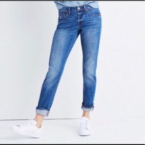 Madewell Slim Boy Jean in Walton wash